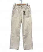 AT-DIRTY(アットダーティ)の古着「Workers Pants」 ホワイト