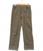 AT-DIRTY(アットダーティ)の古着「WORKERS PANTS」 ネイビー