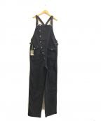 AT-DIRTY(アットダーティ)の古着「FIREMAN ALLS」 ブラック