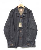 AT-DIRTY(アットダーティ)の古着「デニムワーカーズジャケット」 インディゴ
