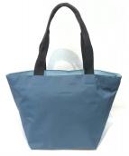 ()の古着「舟形トートバッグ」 ブルー