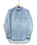 upper hights(アッパーハイツ)の古着「デニムオーバーシャツ」|ブルー
