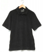 ()の古着「SUVIN PILE JERSEY POLO」|ブラック