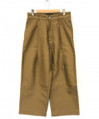 Traditional Weatherwear(トラディショナルウェザーウェア)の古着「ユニオンスラックス」|オリーブ
