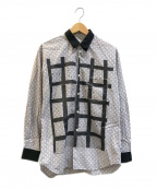 COMME des GARCONS SHIRT()の古着「プリントドットシャツ」|グレー