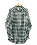AiE(エーアイイー)の古着「ペインターシャツ」 グリーン