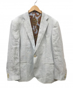 ETRO(エトロ)の古着「リネンテーラードジャケット」|ホワイト
