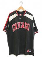 NIKE(ナイキ)の古着「[古着]シカゴブルズジャージーゲームシャツ」|ブラック