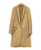 LE CIEL BLEU(ルシェルブルー)の古着「チェスターコート」 キャメル