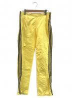 adidas(アディダス)の古着「[古着]ヴィンテージATPトラックパンツ」|イエロー