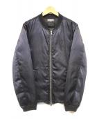 ()の古着「LIMONTAナイロンMA-1ダウンジャケット」 ネイビー
