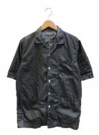 COMME des GARCONS HOMME(コムデギャルソン オム)の古着「[OLD]製品染め加工シャツ」|グレー