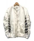 ()の古着「BOMBER JACKET」 ホワイト