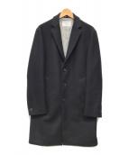 ()の古着「BALLIS社生地メルトンチェスターコート」|ネイビー