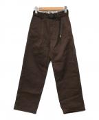 GRAMICCI × DICKIES(ディッキーズ × グラミチ)の古着「クライミングパンツ」|ブラウン