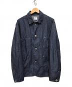 POST O'ALLS(ポストオーバーオールズ)の古着「デニムカバーオール」|インディゴ