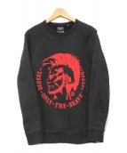 ()の古着「ブレイブマンプリントスウェットシャツ」|ブラック