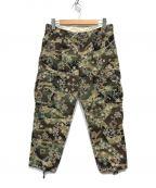 CLOT(クロット)の古着「EMB PAISLEY CAMO PT」|オリーブ