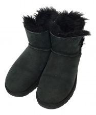 UGG (アグ) ダイヤコンチョムートンブーツ ブラック サイズ:23