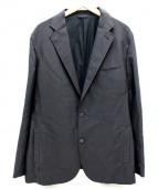 theory(セオリー)の古着「裏起毛テーラードジャケット」 ブラック