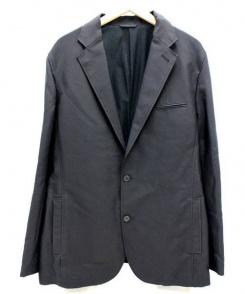 theory(セオリー)の古着「裏起毛テーラードジャケット」|ブラック
