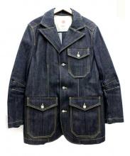SOMET(ソメ)の古着「リジットデニムカバーオール」|インディゴ