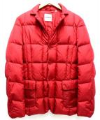ASPESI(アスペジ)の古着「ナイロンダウンジャケット 」|レッド