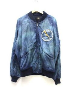 RRL(ダブルアールエル)の古着「スーベニアジャケット」|ブルー