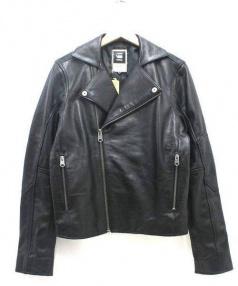 G-STAR RAW(ジースターロゥ)の古着「ライダースジャケット」|ブラック