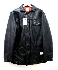 BEDWIN &THE HEARTBREAKERS(ベドウィン アンド ザ ハートブレイカーズ)の古着「CAR COAT BRUCE」 ブラック