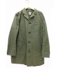 deluxe clothing(デラックスクロージング)の古着「ショップコート」|カーキ
