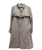 KOLOR(カラー)の古着「ライトペーパーテックスコート」|ベージュ