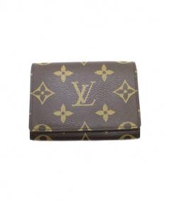 LOUIS VUITTON(ルイ・ヴィトン)の古着「カードケース」 ブラウン