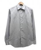 UNDERCOVER(アンダーカバー)の古着「f字パッチデザインシャツ」|グレー