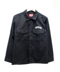 SUPREME()の古着「ARC LOGO WORK SHIRT」|ブラック