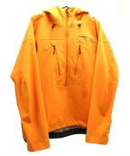 Patagonia(パタゴニア)の古着「ナイフブレードプルオーバー」|オレンジ
