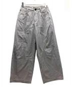UNDERCOVER(アンダーカバー)の古着「C/LiMI切り替えワイドパンツ」|グレー
