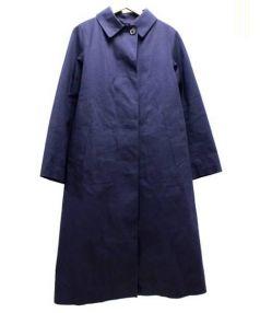 MACKINTOSH(マッキントッシュ)の古着「ライナー付ゴム引きコート」|ネイビー