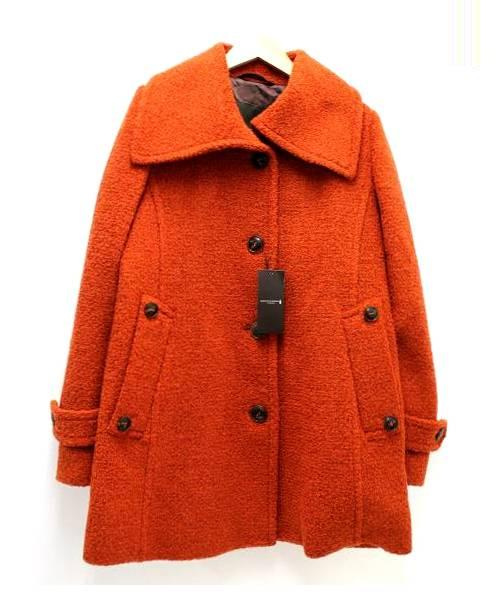 MACKINTOSH MACKINTOSH (マッキントッシュ) ビッグカラーコート オレンジ サイズ:SIZE 40 未使用品 定価160,000円税抜