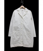 FRAMeWORK(フレームワークス)の古着「コンパクトパフビーチミリタリーコート」|アイボリー