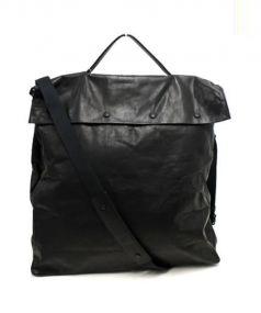 Martin Margiela11(マルタンマルジェラ 11)の古着「クロスショルダーバッグ」|ブラック