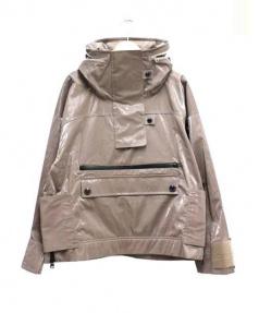 adidas×STELLA McCARTNEY(アディダス×ステラ・マッカートニー)の古着「Studio Pull-on jacket ジャケット」 グレー