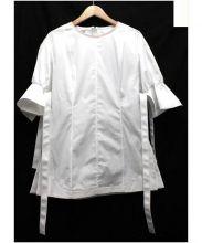 AQUILANO RIMONDI(アキラーノ リモンディ)の古着「デザインブラウス」|ホワイト