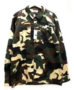 X LARGE(エクストララージ)の古着「ワークカモシャツ」|グリーン