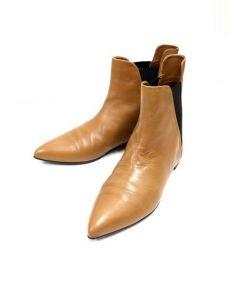 kalliste(カリステ)の古着「ポインテッドサイドゴアブーツ」 ブラウン