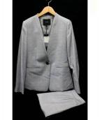 BOSCH(ボッシュ)の古着「セットアップスカートスーツ」|グレー
