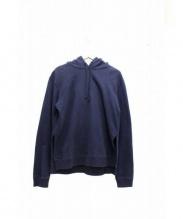 A.P.C. KANYE(アー・ペー・セー カニエ)の古着「サイドスリットプルオーバーパーカー」|ネイビー