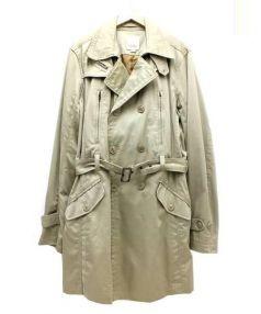 DIESEL(ディーゼル)の古着「トレンチコート」|ベージュ