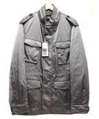 Aquascutum(アクアスキュータム)の古着「中綿ライナー付コート」|グレー