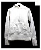DRESSTERIOR(ドレステリア)の古着「D刺繍パーカー」|ホワイト